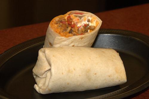 Taco Bell's Volcano Burrito