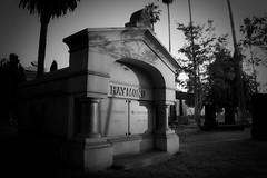 Everybody Loves Raymond (dogwelder) Tags: california blackandwhite monochrome grave july hollywoodforevercemetery zurbulon6 crypt 2009 zurbulon hollywoodforevermemorialpark