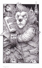 Leopold - A musical lion who plays the steam organ. Obvious really…