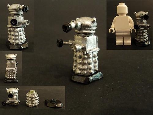 Custom minifig Dalek