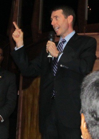 David Plouffe in Atlanta