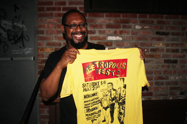 2011/05/21 Metropolis Fest Shirt With Mick Collins