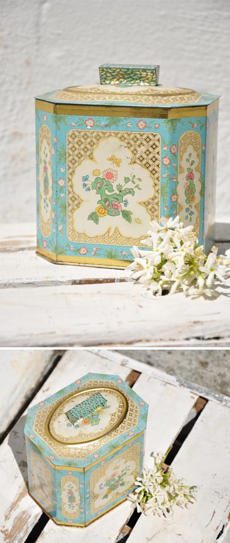 Floral-Tin