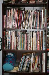 mycollection_artbooks (purpledragon42) Tags: manga books collection bookshelves manhwa amerimanga