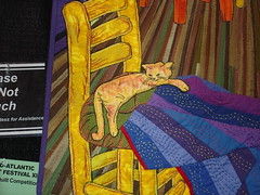 Van Gogh's Quilt (detail) by: Ann Horton