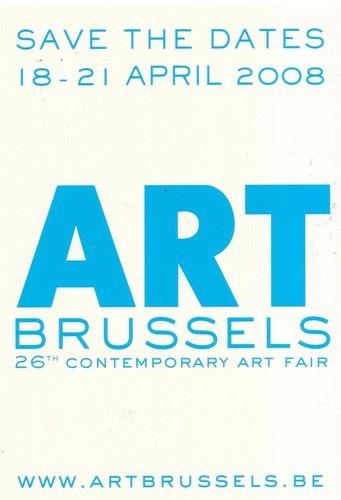 ((( ART BRUSSELS  2008