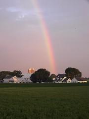 AmishRainbow (jster91) Tags: rainbow farm amish lititz pentaxk10d photofaceoffwinner justpentax
