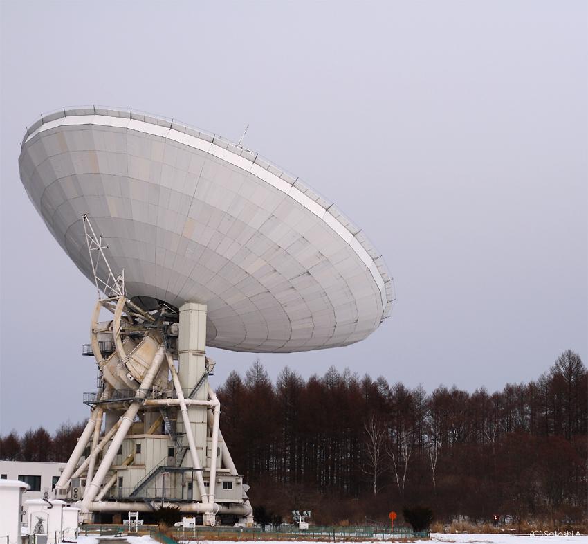 野辺山45mm電波望遠鏡
