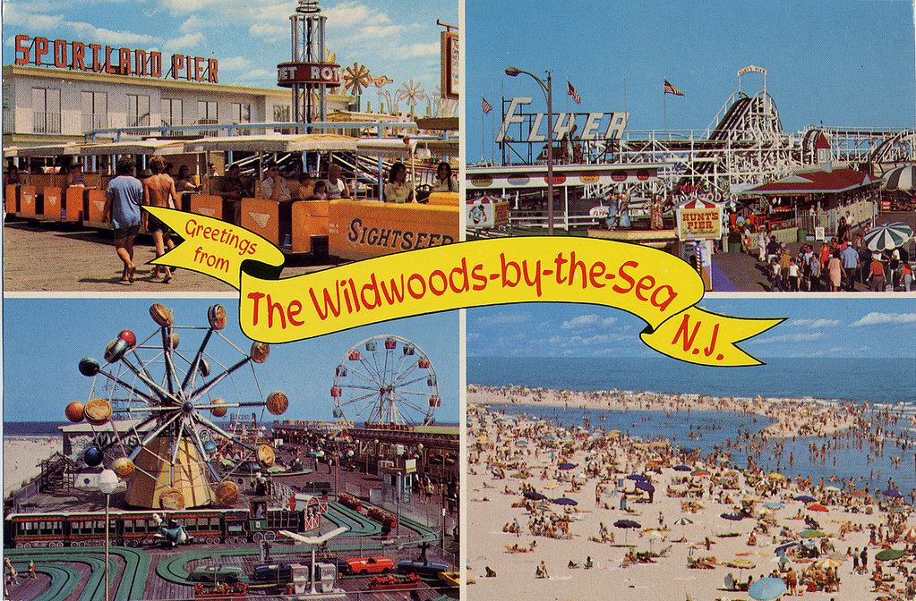 retro roadmap weekend wildwood new jersey bound  retro