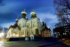 Ukraine, Night Kiev. (lights2008) Tags: old art history church colors architecture night dark gold evening ukraine monastery domes kiev  mostpopular      nightkiev theloveshack  anawesomeshot flickrelite hccity qualitypixels skyascanvas pokrovskyi