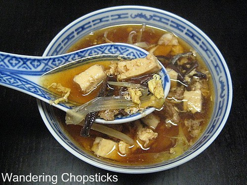 Day 25 Chinese Hot and Sour Soup