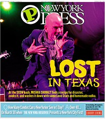 REM Photo on the Cover of New York Press