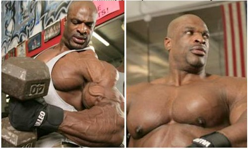 Ronnie Coleman policial mais forte do mundo
