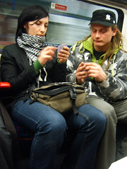 Card Playing on the Tube