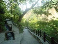 At the waterfalls (sotoz) Tags: water falls kozani kataraktes velvento metoxi aliakmonas belbento