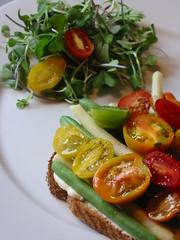 Vegetarian BLT 7