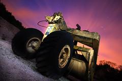 Big wheele (Dan Bennett2891) Tags: old dan night canon dark photography eos chalk rust rusty disused lime derelict quarry bennett petersfield urbex chaulk danbennett