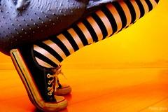 Nonsense (Honey Pie!) Tags: colors socks cores legs stripes converse pernas allstar meias chucktaylor listras highsocks listradas meiaslistradas stripessocks cybershotdscs650 stripeslegs pernaslistradas