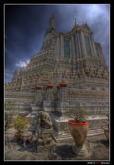 "Wat Arun ""The Temple of the Dawn"" @ Bangkok (Thailand) (Eric Rousset) Tags: voyage travel sky architecture clouds photoshop thailand temple photography reflex asia raw cs2 bangkok sony sigma buddhism wideangle thalande ciel adobe asie 1020mm wat nuages 2008 soe watarun hdr highdynamicrange photomanipulated bpp postprocessing blueribbonwinner firstquality photomatix sigma1020 supershot tonemapping flickrsbest thetempleofthedawn fineartphotos alpha100 mywinners abigfave sonydslra100 worldbest anawesomeshot hdrenfrancais superbmasterpiece diamondclassphotographer flickrdiamond megashot frhwofavs ysplix theunforgettablepictures proudshopper thegoldendreams goldstaraward piproduction ericrousset multimegashot obq vision100 ericroussetphotography"