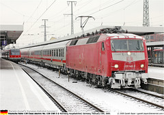 DB120148GB_150205 (Catcliffe Demon) Tags: germany deutschland europe db deutschebahn railways germanrailways baureihe120 germanytrip1feb2005 germanytrip2apr2008 dbbahn 120class