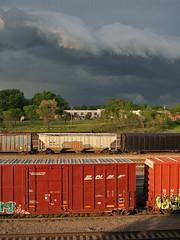 BNSF tornado