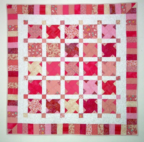 Baby Quilt For Olivia