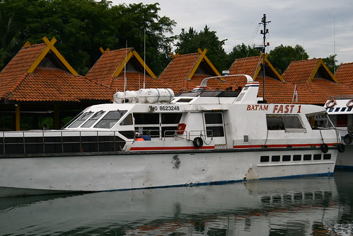 Batam Fast - The Boat that took us there