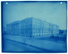 Untitled (Smithsonian Institution) Tags: street sky horse building washingtondc dc chinatown nw hotelmonaco 1890 cyanotype 1839 smithsonianinstitution generalpostoffice fstreet smillie robertmills thomasuwalter thomasustickwalter thomassmillie tariffcommissionbuilding smithsonianinstitutionarchives earlyphography