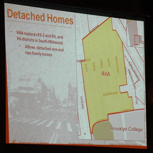 South Midwood, proposed rezoning