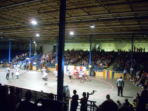 Boston Derby Dames, last time I went