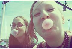 nostalgia series two (theniceparabola) Tags: girls summer bubblegum wolfeislandferry