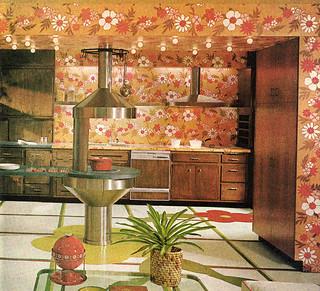 Space Age Kitchen 1969