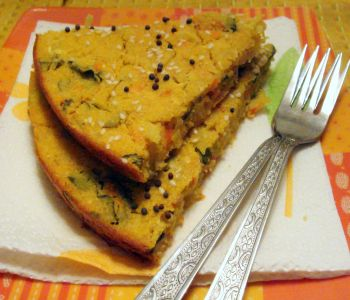 handvo-steamed-cornmeal-cake