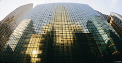 Empire State Building (shaymurphy) Tags: new york city nyc usa reflection america américa nikon state manhattan fisheye empire nikkor amerika stad buliding アメリカ d300 105mm 美国 미국 纽约 америка lamerica lamérique πόλη τησ ニューヨークシティ αμερική 뉴욕시 νέασ υόρκησ