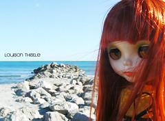 Louison Thistle découvre la Méditerranée