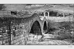 Val Versasca_2 (Monika Ostermann) Tags: bridge bw church water monochrome rock river schweiz switzerland tessin ticino rocks village sw blackwhitephotos valversasca monikaostermann