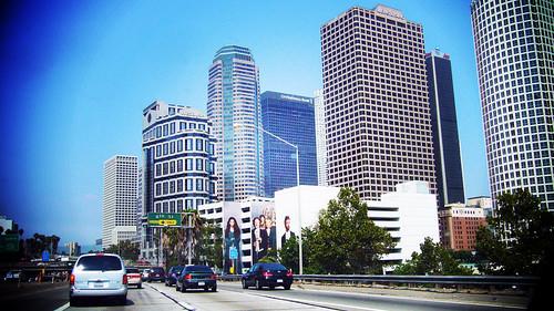 L.A. 的 Downtown