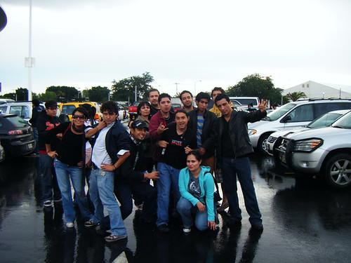 Afuera del Auditorio Telmex