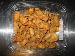 SriPraPhai: Fried chicken skin (another view)