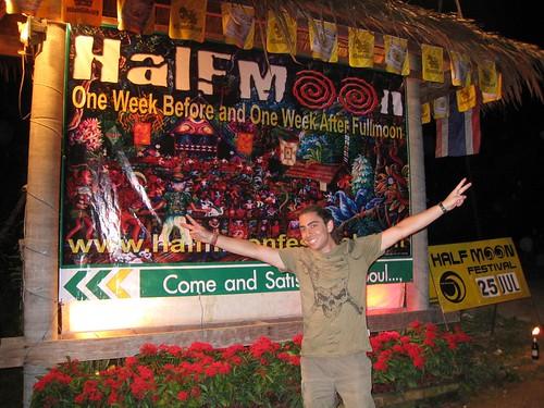 Steve at Half Moon Party - Koh Phangan