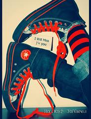 !! (Hakel 3a'6myi .) Tags: travel red 3 black love shoe star bahrain cool sock shoes all you converse luv miss bhr kewl b7rain jeanz haikelooo