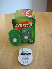 Zyrtec-D's packaging sucks