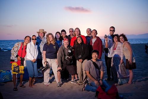 Dockweiler Beach - Los Angeles Flickr Meet (by kangster)