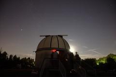 """Guardando le stelle.. (bisbiglio [in arte """"sbibb""""]) Tags: luna cielo bologna osservatorio controluce stelle slorenzo gapers sgiovanniinpersiceto"""