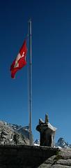d0805065 (m-klueber.de) Tags: del schweiz switzerland suisse htte val alpen svizzera 2008 fahne flagge forno graubnden berghtte capanna bergell bregaglia grischun grigione ostalpen zentralalpen sdalpen bergeller fornohtte 20080724 mk2008bergell1 mk2008bergell d0805065 mkbildkatalog