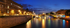 Panorama of Seine (Madebycedric) Tags: travel panorama paris art nature night outdoors interesting colorful day tripod cit picture ile explore photograph saintlouis popular majestic nuit eyecandy cdric interestingpictures frenchsymbols madebycedric cdricpaul madebycdric cedricpaul photoscdricpaul cdricpaulphotos cedricpaulphotos cdricpaulparis madebycdricparis