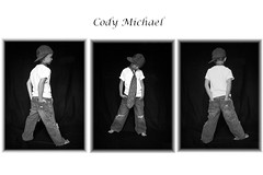 cody's composite (Casey Keith) Tags: portrait blackandwhite hat composite child tie naturallight