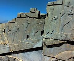 Persepolis (Desolate Memorial_4) (<<Maverick>>) Tags: old ancient memorial iran antique gray era primer iranian persepolis antiquarian relic fars primeval