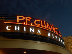 PF Chang's Signboard (Jennifer Kumar) Tags: mall shoppingmall pfchangs 2008 neonsigns outtoeat eastviewmall restaurantreview victornewyork dailylifeinrochesterny