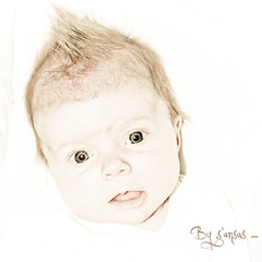 mon petit ange... (s'ansas) Tags: portrait look eyes nikon babies child yeux onwhite enfant bébé regard sansas memorycornerportraits